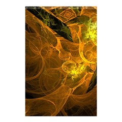 Spot Background Dark  Shower Curtain 48  X 72  (small)  by amphoto