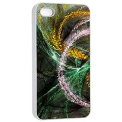 Connection Background Line Apple Iphone 4/4s Seamless Case (white) by amphoto