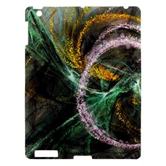 Connection Background Line Apple Ipad 3/4 Hardshell Case by amphoto