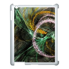 Connection Background Line Apple Ipad 3/4 Case (white) by amphoto