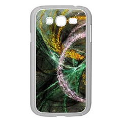 Connection Background Line Samsung Galaxy Grand Duos I9082 Case (white) by amphoto