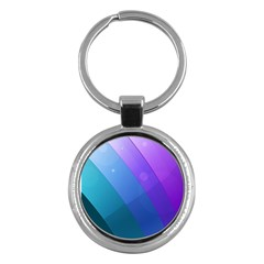 Line Glare Light 3840x2400 Key Chains (round)  by amphoto