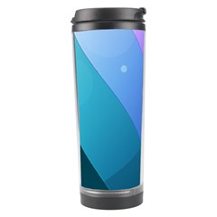 Line Glare Light 3840x2400 Travel Tumbler by amphoto