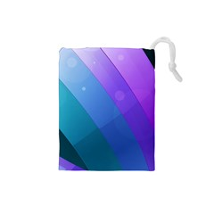 Line Glare Light 3840x2400 Drawstring Pouches (small)  by amphoto