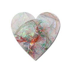 Shroud Clot Light  Heart Magnet by amphoto