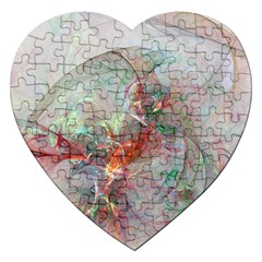 Shroud Clot Light  Jigsaw Puzzle (heart) by amphoto
