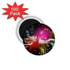 Plant Patterns Colorful  1 75  Magnets (100 Pack)  by amphoto