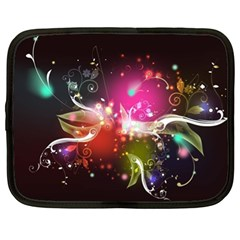 Plant Patterns Colorful  Netbook Case (xl)  by amphoto