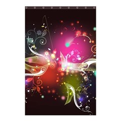 Plant Patterns Colorful  Shower Curtain 48  X 72  (small)  by amphoto
