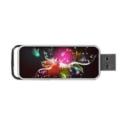 Plant Patterns Colorful  Portable Usb Flash (two Sides) by amphoto