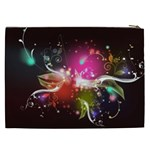 Plant Patterns Colorful  Cosmetic Bag (XXL)  Back