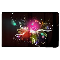 Plant Patterns Colorful  Apple Ipad 3/4 Flip Case by amphoto