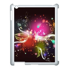 Plant Patterns Colorful  Apple Ipad 3/4 Case (white) by amphoto