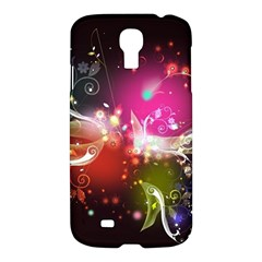 Plant Patterns Colorful  Samsung Galaxy S4 I9500/i9505 Hardshell Case by amphoto