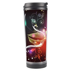 Plant Patterns Colorful  Travel Tumbler by amphoto