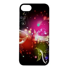 Plant Patterns Colorful  Apple Iphone 5s/ Se Hardshell Case by amphoto