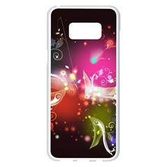 Plant Patterns Colorful  Samsung Galaxy S8 Plus White Seamless Case
