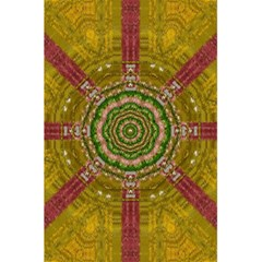 Mandala In Metal And Pearls 5 5  X 8 5  Notebooks by pepitasart