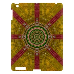 Mandala In Metal And Pearls Apple Ipad 3/4 Hardshell Case by pepitasart