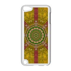 Mandala In Metal And Pearls Apple Ipod Touch 5 Case (white) by pepitasart