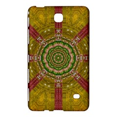 Mandala In Metal And Pearls Samsung Galaxy Tab 4 (8 ) Hardshell Case  by pepitasart