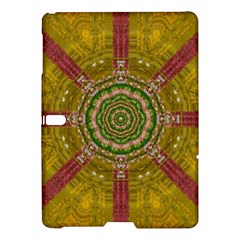 Mandala In Metal And Pearls Samsung Galaxy Tab S (10 5 ) Hardshell Case  by pepitasart