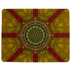 Mandala In Metal And Pearls Jigsaw Puzzle Photo Stand (rectangular) by pepitasart