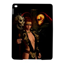 The Dark Side, Women With Skulls In The Night Ipad Air 2 Hardshell Cases by FantasyWorld7