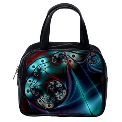 Rotation Patterns Lines  Classic Handbags (one Side) by amphoto
