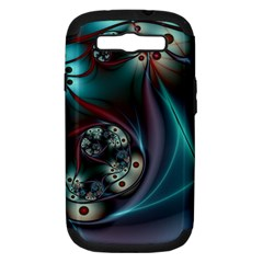 Rotation Patterns Lines  Samsung Galaxy S Iii Hardshell Case (pc+silicone) by amphoto