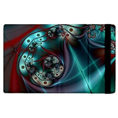 Rotation Patterns Lines  Apple Ipad 2 Flip Case by amphoto