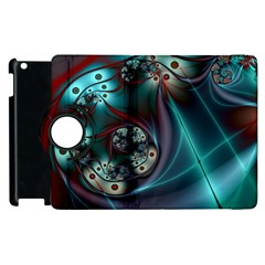 Rotation Patterns Lines  Apple Ipad 2 Flip 360 Case by amphoto