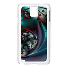 Rotation Patterns Lines  Samsung Galaxy Note 3 N9005 Case (white) by amphoto