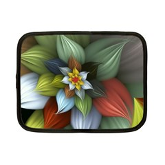Flower Background Colorful Netbook Case (small)  by amphoto