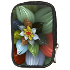 Flower Background Colorful Compact Camera Cases by amphoto