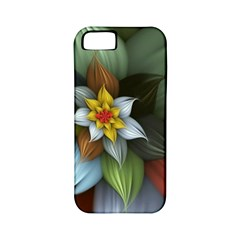 Flower Background Colorful Apple Iphone 5 Classic Hardshell Case (pc+silicone) by amphoto