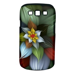 Flower Background Colorful Samsung Galaxy S Iii Classic Hardshell Case (pc+silicone) by amphoto