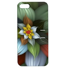 Flower Background Colorful Apple Iphone 5 Hardshell Case With Stand by amphoto