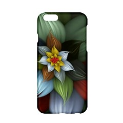 Flower Background Colorful Apple Iphone 6/6s Hardshell Case by amphoto