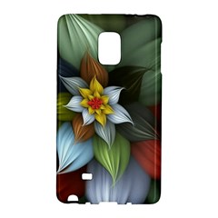 Flower Background Colorful Galaxy Note Edge by amphoto