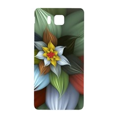 Flower Background Colorful Samsung Galaxy Alpha Hardshell Back Case by amphoto