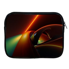 Line Figure Background  Apple Ipad 2/3/4 Zipper Cases by amphoto