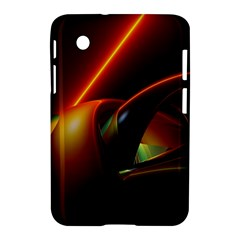 Line Figure Background  Samsung Galaxy Tab 2 (7 ) P3100 Hardshell Case  by amphoto