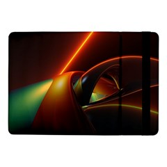 Line Figure Background  Samsung Galaxy Tab Pro 10 1  Flip Case by amphoto