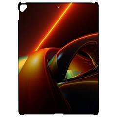 Line Figure Background  Apple Ipad Pro 12 9   Hardshell Case by amphoto