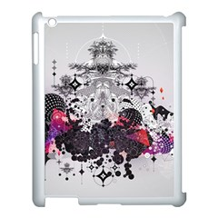 Figure Circle Triangle Apple Ipad 3/4 Case (white) by amphoto