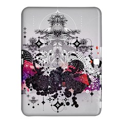 Figure Circle Triangle Samsung Galaxy Tab 4 (10 1 ) Hardshell Case  by amphoto