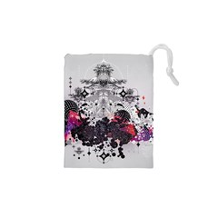 Figure Circle Triangle Drawstring Pouches (xs)  by amphoto