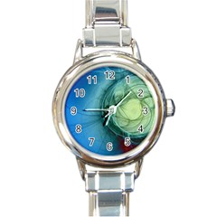 Connection Ball Light  Round Italian Charm Watch by amphoto