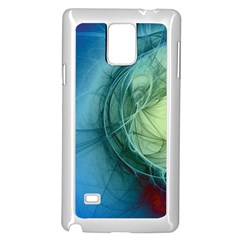 Connection Ball Light  Samsung Galaxy Note 4 Case (white) by amphoto
